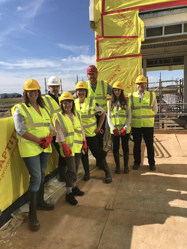Education staff visit Lochside Academy