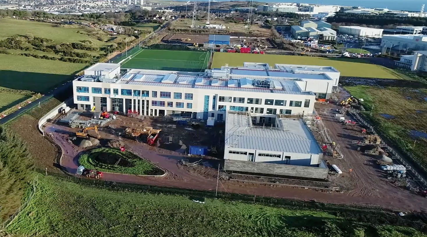 Latest Drone Footage From Balfour Beatty – 15th January 2018