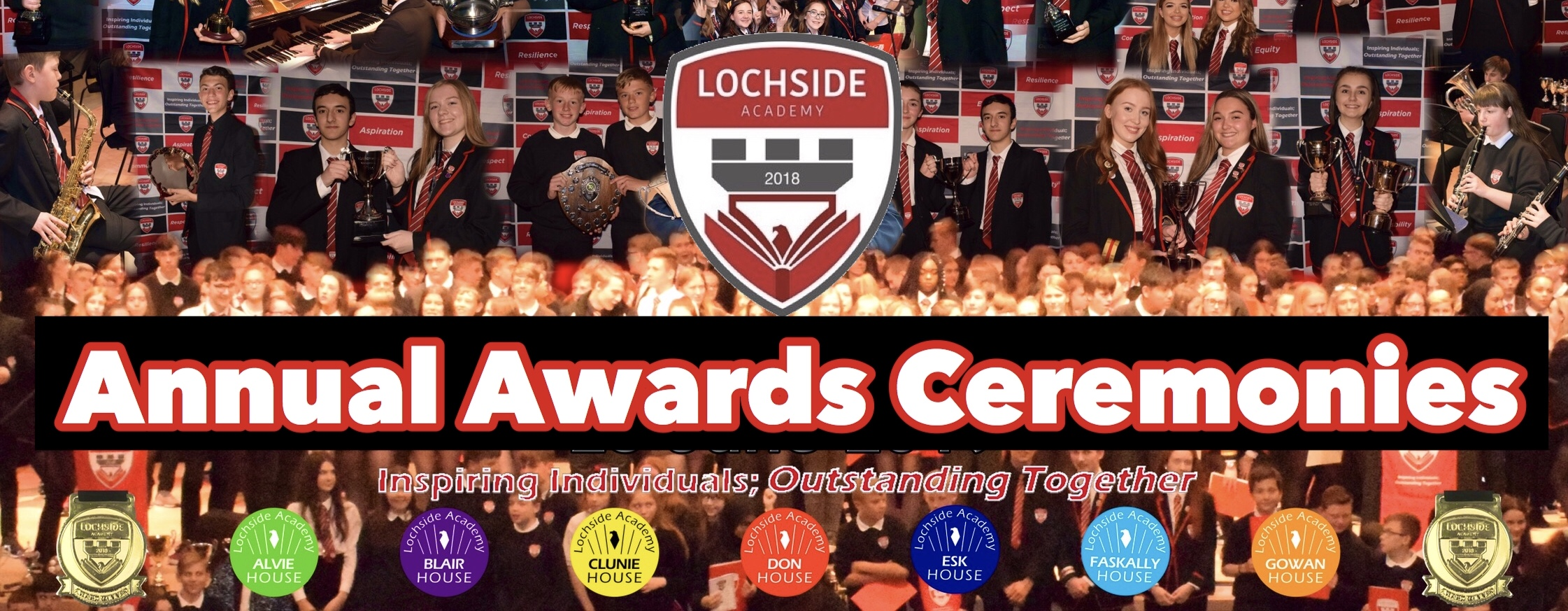 Lochside Academy Year in Pictures 2020
