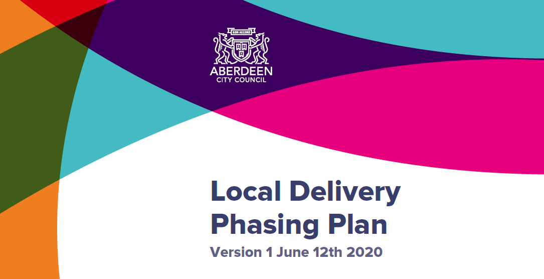 Local Delivery Phasing Plan 15/06/2020