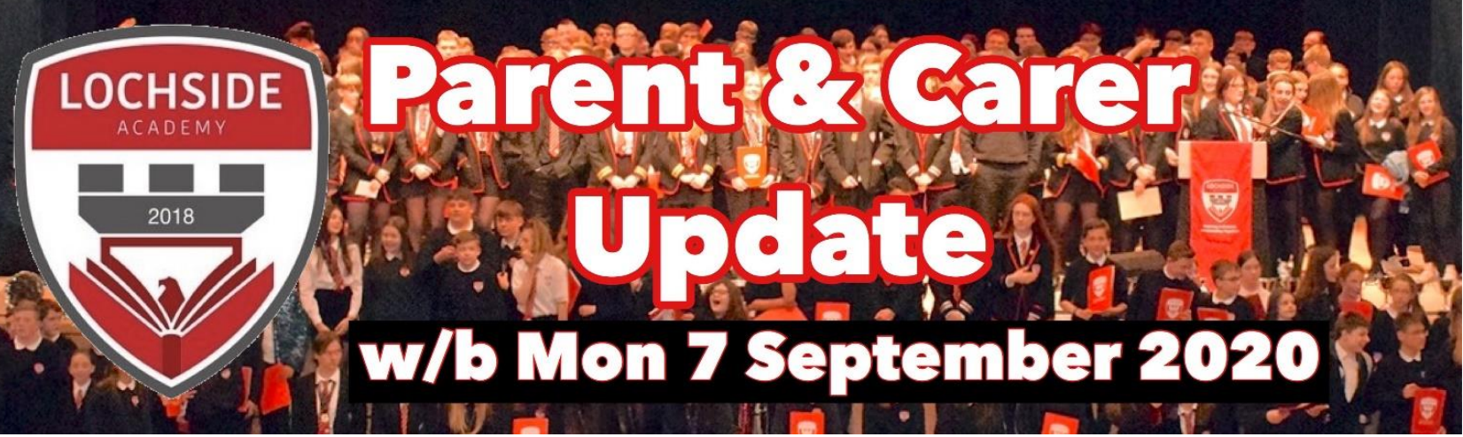 Lochside Academy COVID-19 Parental Update 7th September