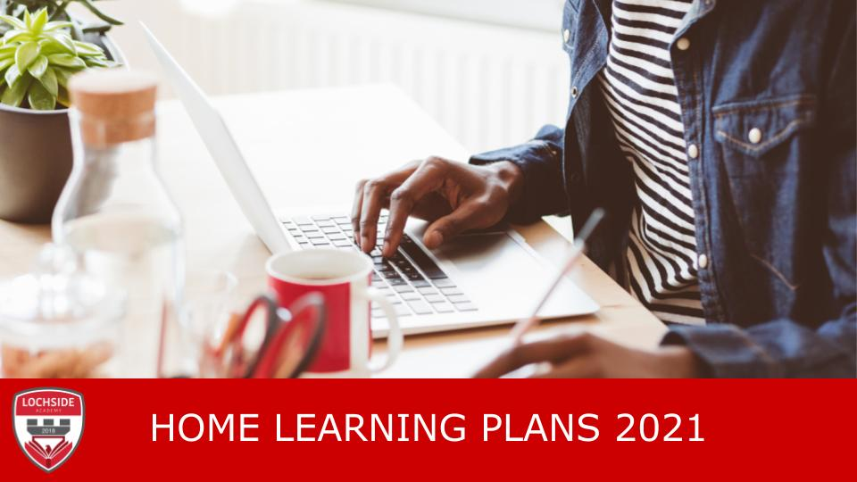 Home Learning Plans Week Beginning 22nd March 2021