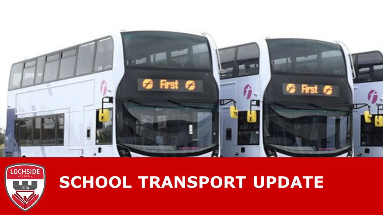 School Transport – Bus Arrangements 15/03/21 – 26/03/21
